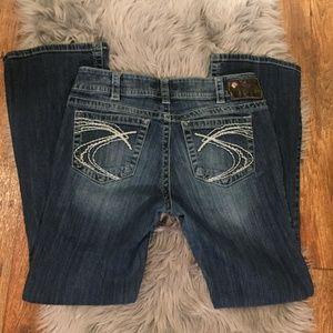 Silver Suki Bootcut Jeans 30